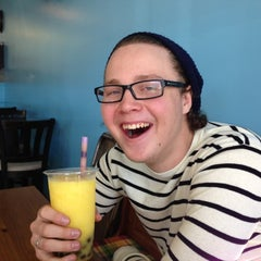 Photo taken at Boba And Crepes by Eliza C. on 11/17/2012