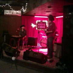Photo taken at The White Horse by Michael S. on 1/18/2013