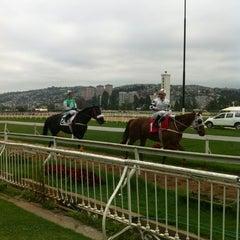 Photo taken at Valparaíso Sporting Club by Pablo M. on 11/14/2012