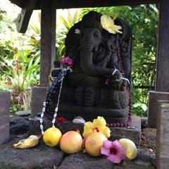 Photo taken at Kauai Hindu Monastery by Sangini B. on 6/29/2014