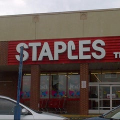 Photo taken at Staples by B n H on 9/11/2014