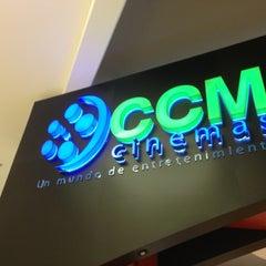 Photo taken at CCM Cinemas by Rodrigo M. on 2/18/2013