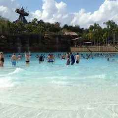 Photo taken at Disney's Typhoon Lagoon Water Park by Joe W. on 2/23/2013