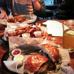 Photo taken at Dempsey's Burger Pub by Jolieta P. on 10/14/2013