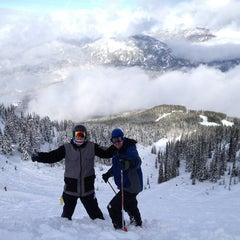 Photo taken at Whistler Mtn. Peak by Marley H. on 2/23/2013