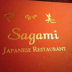 Photo taken at Sagami Japanese Restaurant by Lisa T. on 2/11/2013