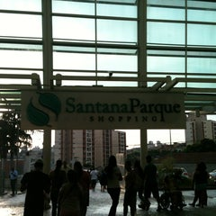 Photo taken at Santana Parque Shopping by André Z. on 1/5/2013