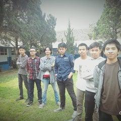 Photo taken at SMA Angkasa Bandung by Rizky E. on 2/2/2016