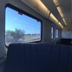 Photo taken at Modesto Amtrak (MOD) by Zax H. on 4/5/2016