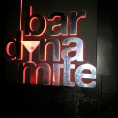 Photo taken at Bar Dynamite by Leroy J. on 11/11/2012