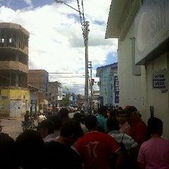 Photo taken at Banco de La Nación by Ronald N. on 12/21/2012