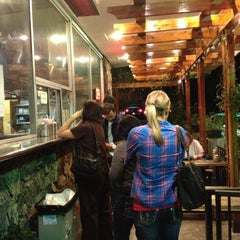 Photo taken at Sparky's Giant Burgers by Lizzie V. on 11/2/2012