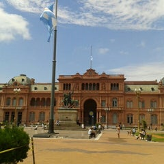 Photo taken at Plaza de Mayo by Sol Z. on 3/7/2013