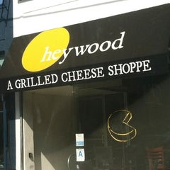 Photo taken at Heywood - A Grilled Cheese Shoppe by Karlyn F. on 10/5/2012