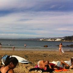Photo taken at Playa Higuerillas by Fernando L. on 1/22/2014