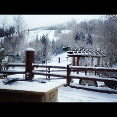 Photo taken at Stein Eriksen Lodge Deer Valley by Lalisa L. on 12/9/2012