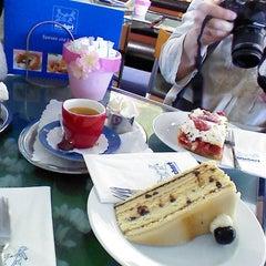 Photo taken at Café Rischart by Polina D. on 5/8/2013