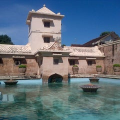 Photo taken at Taman Sari Water Castle by soraya on 7/4/2013