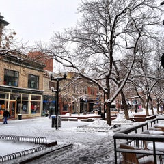 Photo taken at Pearl Street Mall by Daniel P. on 2/21/2013