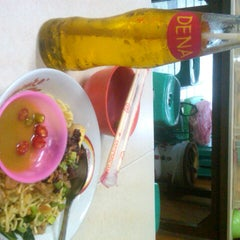 """Photo taken at Mie Keriting Siantar """"Ahok"""" by Lady M. on 6/29/2014"""
