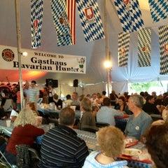 Photo taken at Gasthaus Bavarian Hunter by Michelle C. on 9/15/2012