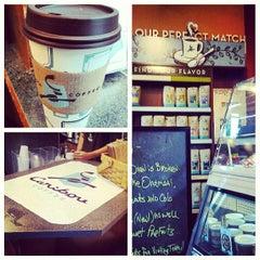 Photo taken at Caribou Coffee by Luke S. on 5/9/2013