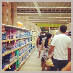 Photo taken at Carrefour by Breno S. on 3/2/2013