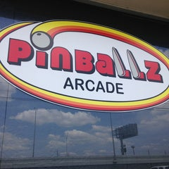 Photo taken at Pinballz Arcade by April T. on 6/8/2013