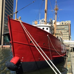 Photo taken at Historic Ships in Baltimore by Gregory J. on 3/18/2015