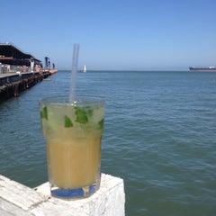 Photo taken at Pier 23 Cafe by Revveka K. on 10/3/2012