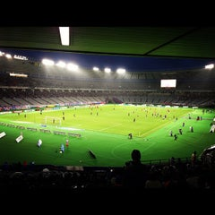 Photo taken at 味の素スタジアム (AJINOMOTO STADIUM) by akihiko k. on 11/17/2012