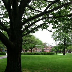Photo taken at Cathedral Square Park by annemarie c. on 5/23/2013