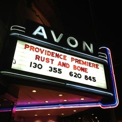 Photo taken at Avon Cinema by Eric A. on 1/20/2013