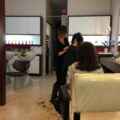 Photo taken at Byu-ti Hair Therapy by rocco p. on 12/23/2012