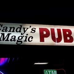 Photo taken at Candy's Magic Pub by Dominique C. on 1/28/2013