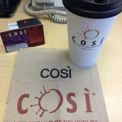 Photo taken at Cosi by Chris S. on 7/11/2013