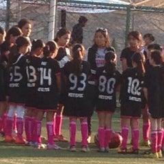 Photo taken at Deportivo Boulevares by Sagrario D. on 4/26/2015
