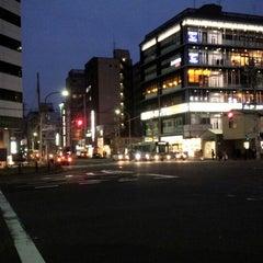 Photo taken at 四条大宮交差点 by kenjin on 4/13/2014