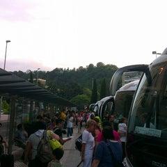 Photo taken at Estación de Autobuses de Donostia/San Sebastián by Ray L. on 7/24/2013