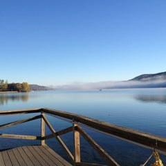 Photo taken at Village of Cooperstown by Cheri M. on 10/12/2013