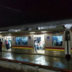 Photo taken at Stasiun Cilebut by Anne A. on 1/24/2016