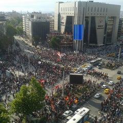 Photo taken at Kızılay by deniz Ü. on 6/9/2013