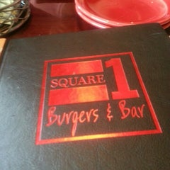 Photo taken at Square 1 Burgers by Tawan on 4/18/2013