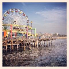 Photo taken at Santa Monica Pier by Ty W. on 10/26/2013
