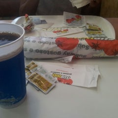 Photo taken at Subway by Israel M. on 1/5/2013