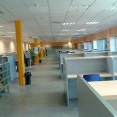 Photo taken at Biblioteca Francisco De Vitoria by Nelcy V. on 3/20/2013