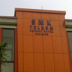 Photo taken at SMK Telkom Sandhy Putra Malang by Nanda K. on 6/5/2014