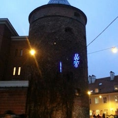 Photo taken at Pulvertornis | Powder Tower | Пороховая башня by Alexey A. on 1/5/2013
