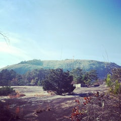 Photo taken at Stone Mountain Park Campground by Richard B. on 11/29/2014