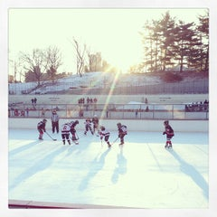 Photo taken at Lasker Pool & Ice Rink by Fischetti, J. on 1/26/2013